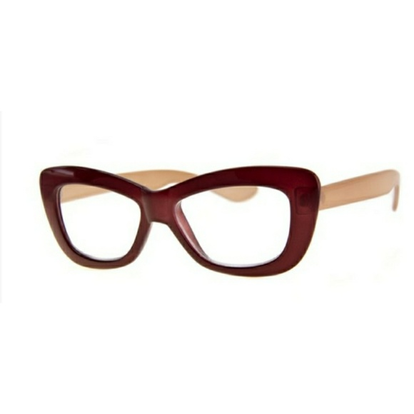 8b9d7d1b4e57 A.J. Morgan Accessories   Thick Framed Butterfly Style Readers ...